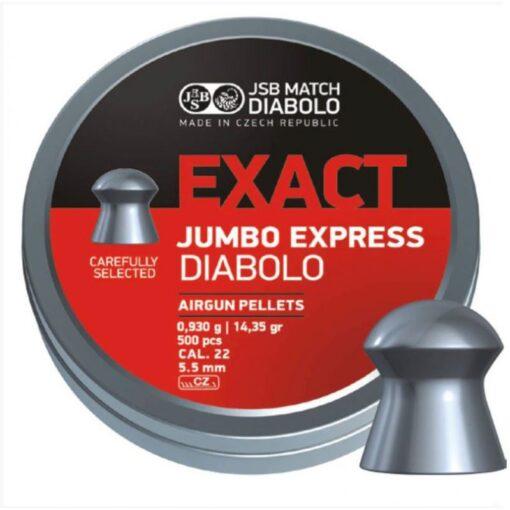 JSB Exact Jumbo Express 5.52mm