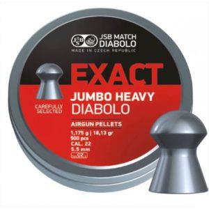 JSB Exact Jumbo Heavy 5.52mm