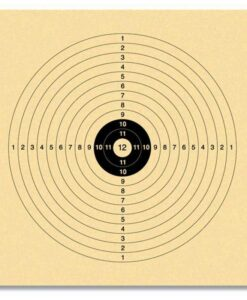 12-Ring Kaart Met Wit Hart (100x)