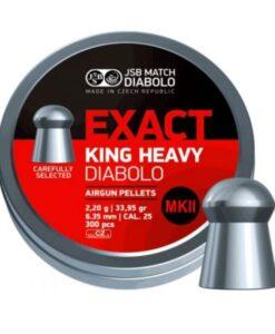 JSB Exact King Heavy MKII 6.35mm