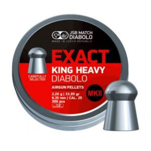 JSB Exact King Heavy MKII 6.35mm