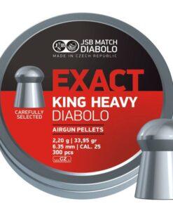 JSB Exact King Heavy 6.35mm