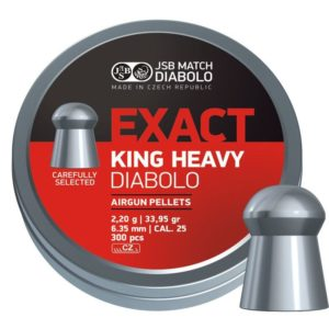 JSB Exact King Heavy 6.35mm