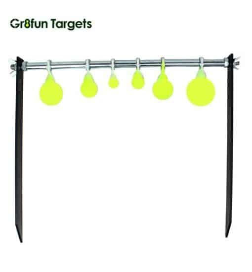 Garden spinner target