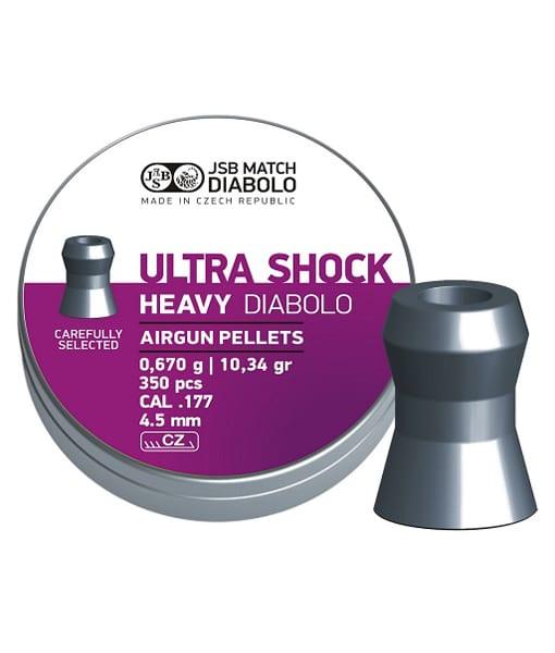 JSB ultra shock heavy 4.52mm
