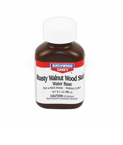 Birchwood casey rusty walnut wood stain